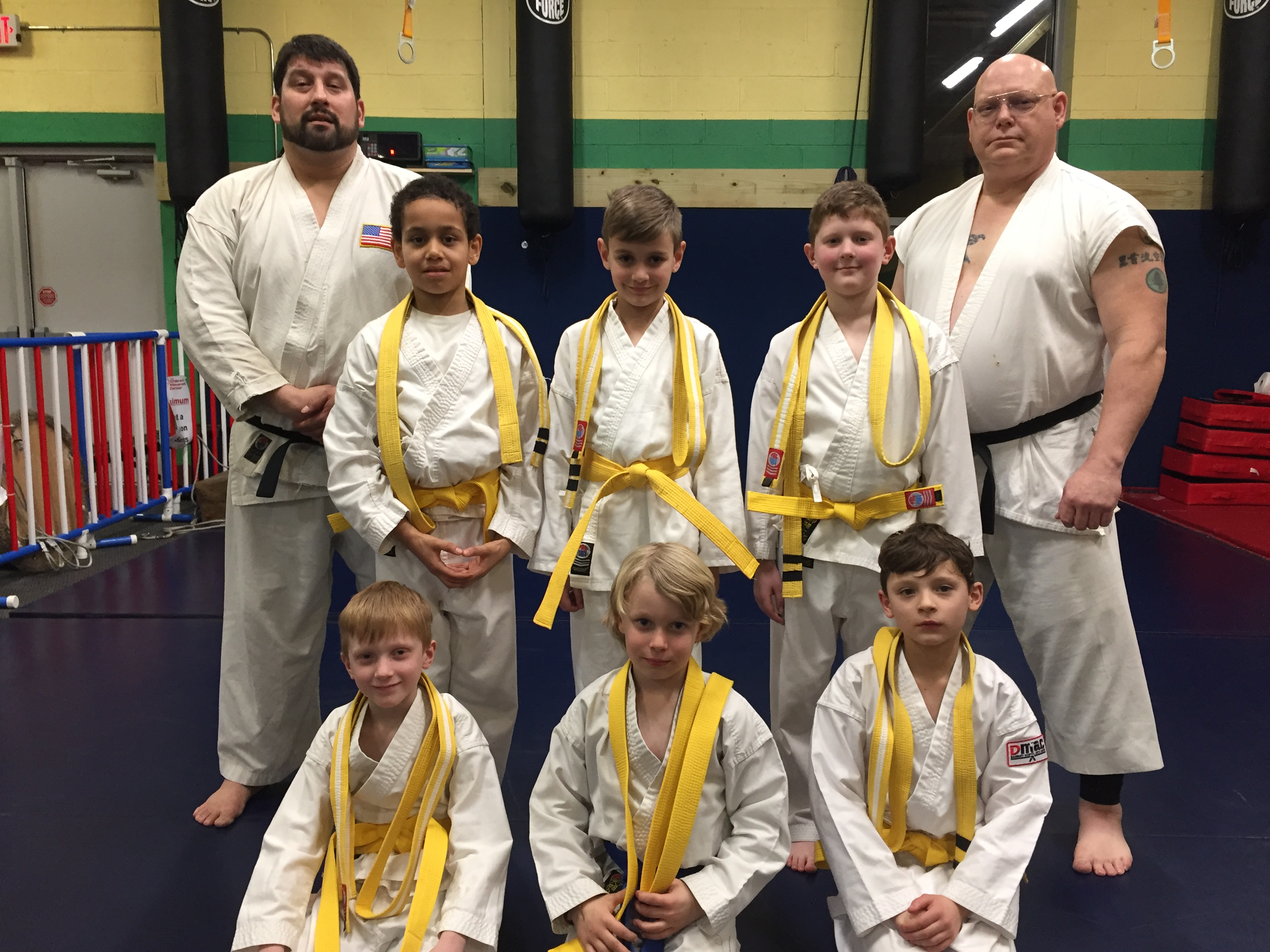 Kids classes at Danbury Martial Arts Center