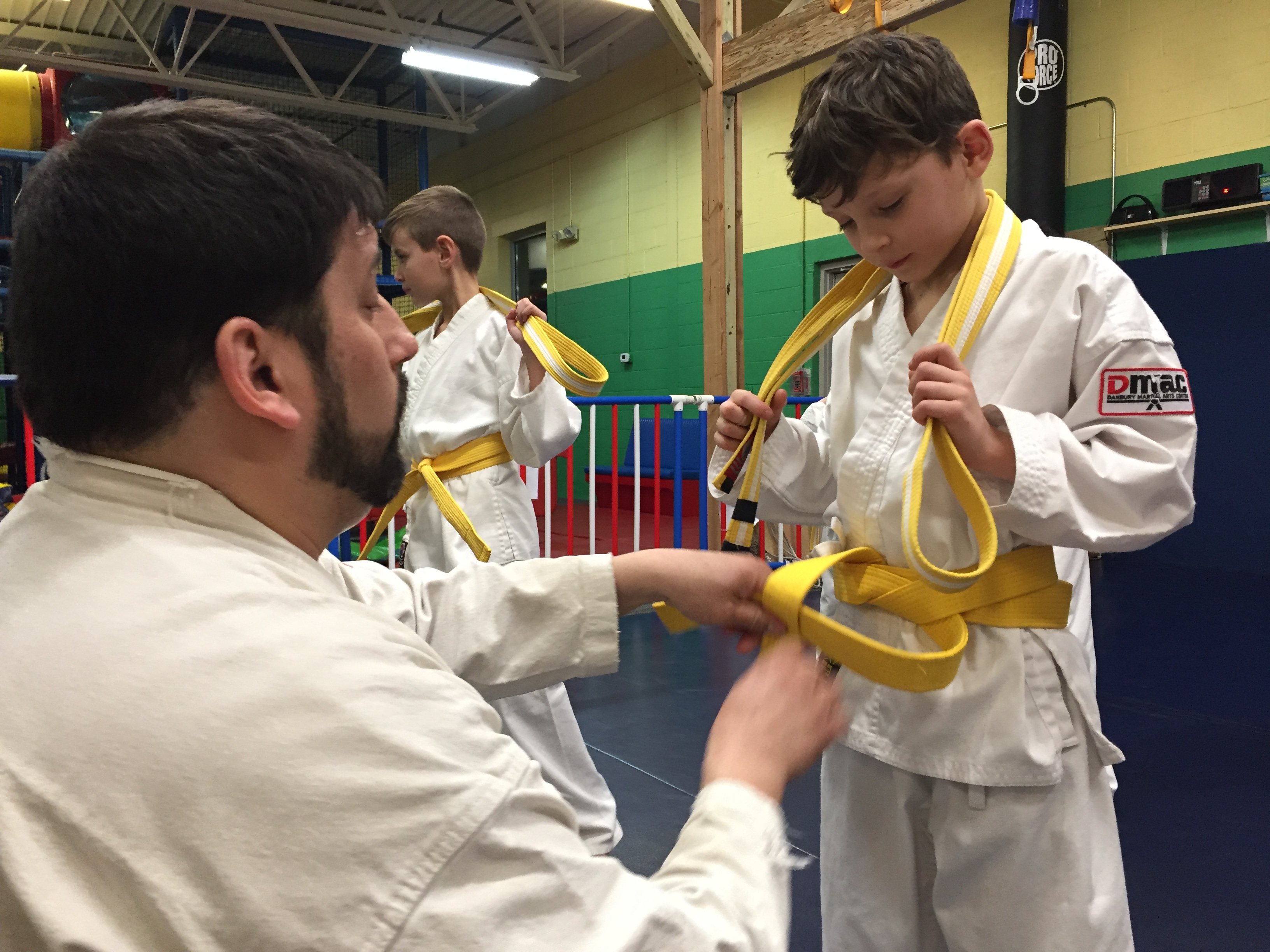 Classes for children at Danbury Martial Arts Center